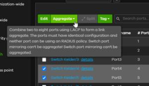 Zyxel Nebula - Switch ports
